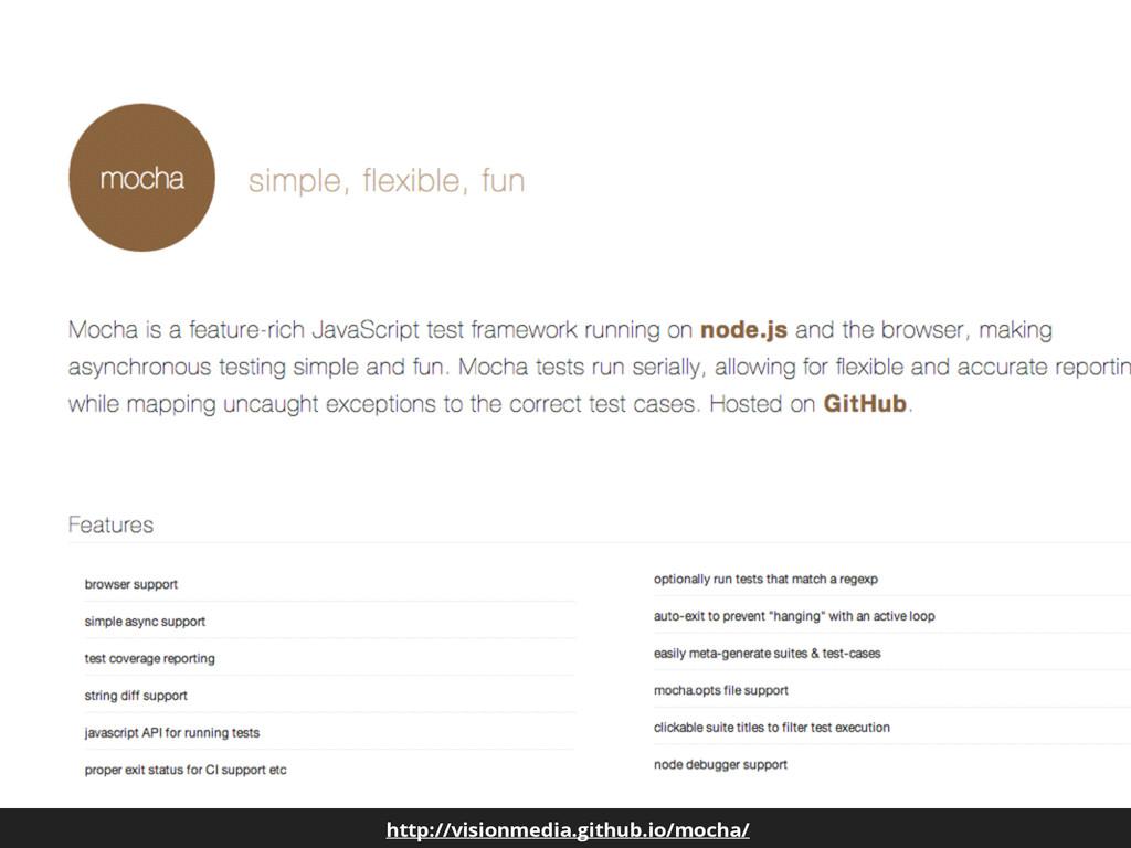 http://visionmedia.github.io/mocha/