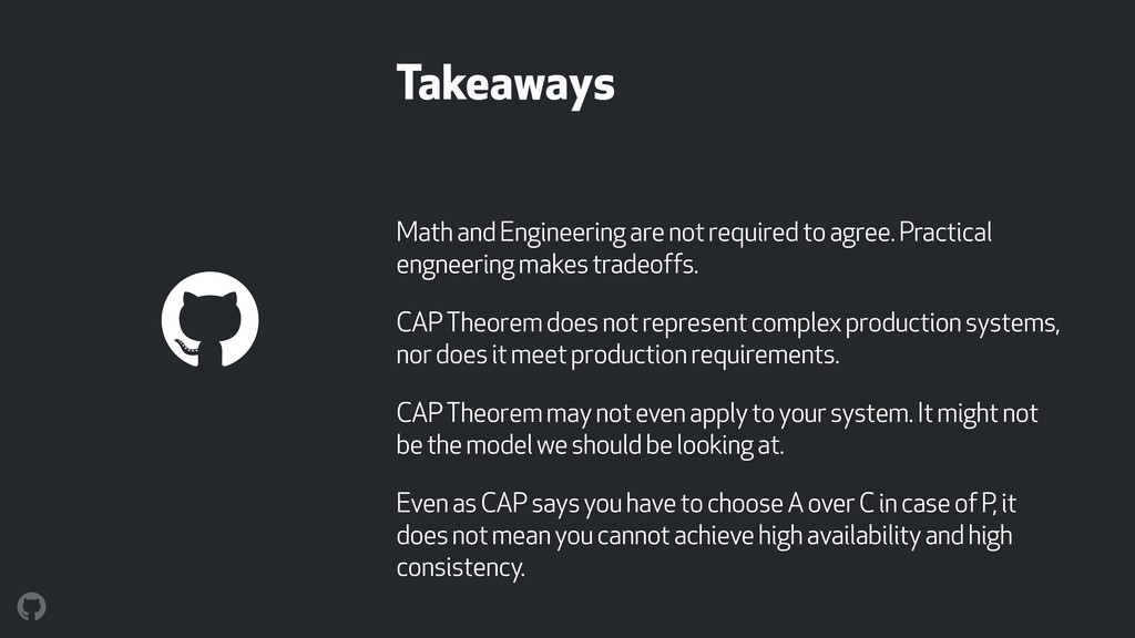 Takeaways Math and Engineering are not required...