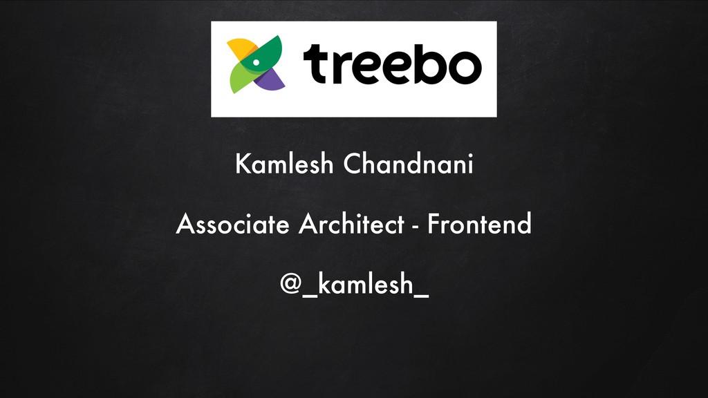 Kamlesh Chandnani Associate Architect - Fronten...