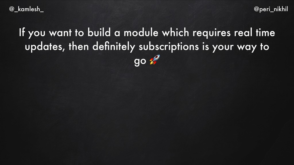 If you want to build a module which requires re...