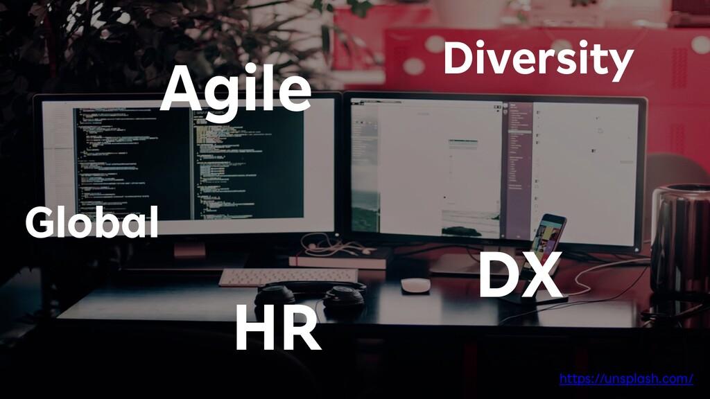 4 Agile DX HR Diversity Global https://unsplash...