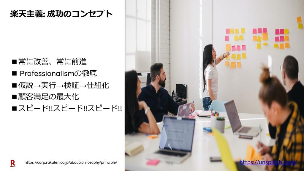6 楽天主義: 成功のコンセプト https://corp.rakuten.co.jp/abo...