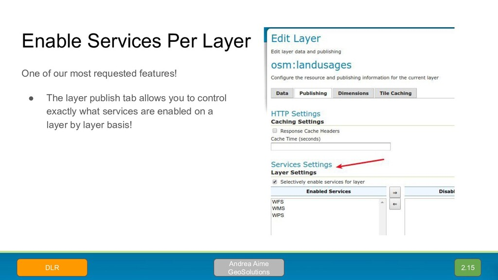 Enable Services Per Layer One of our most reque...