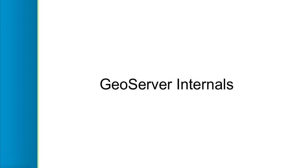GeoServer Internals