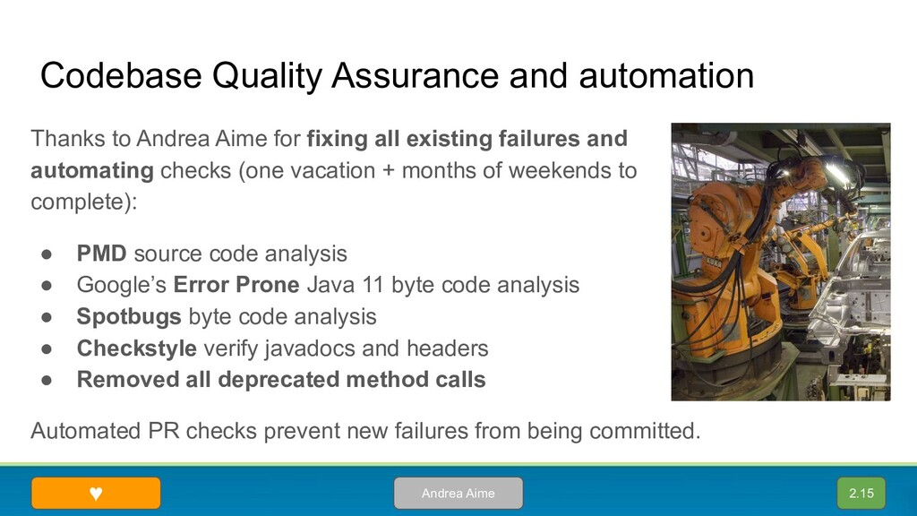 Codebase Quality Assurance and automation Thank...