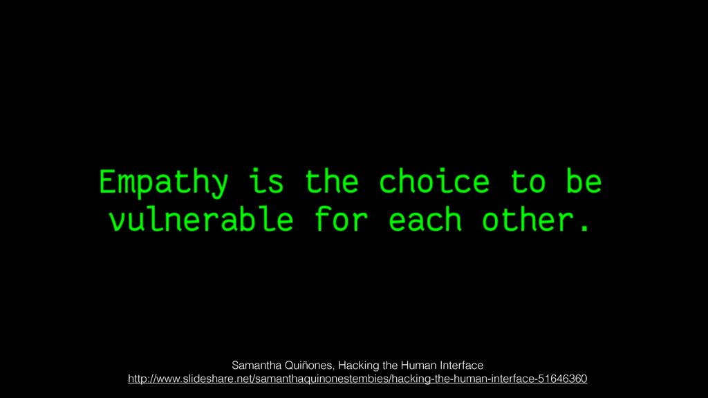 Samantha Quiñones, Hacking the Human Interface ...
