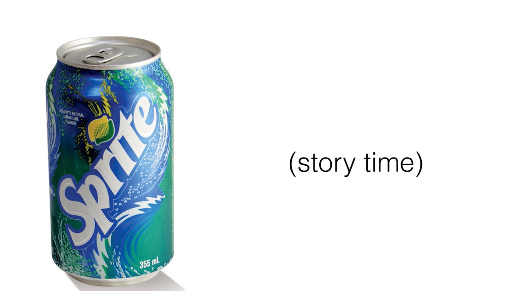(story time)