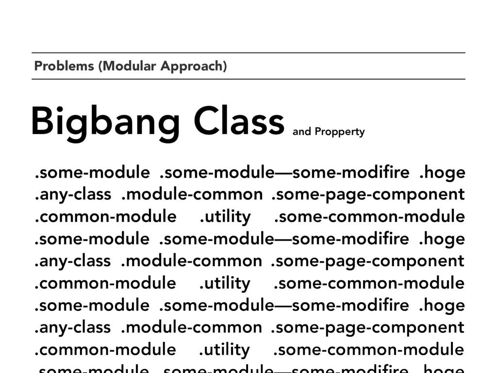 `Problems (Modular Approach) Bigbang Class .som...