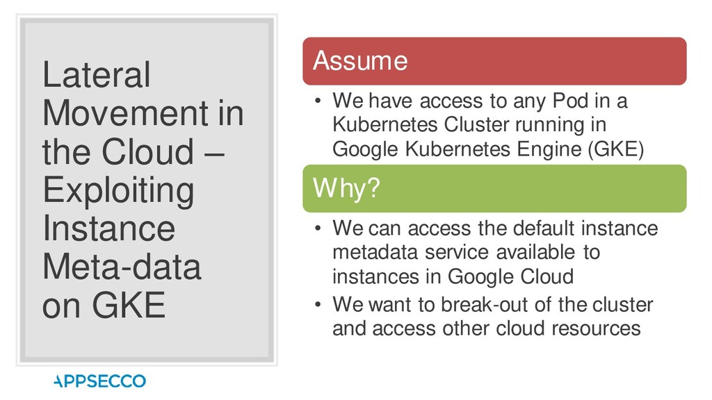 Lateral Movement in the Cloud – Exploiting Inst...