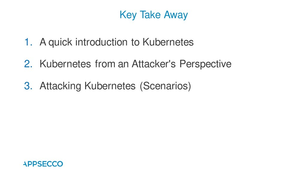 1. A quick introduction to Kubernetes 2. Kubern...