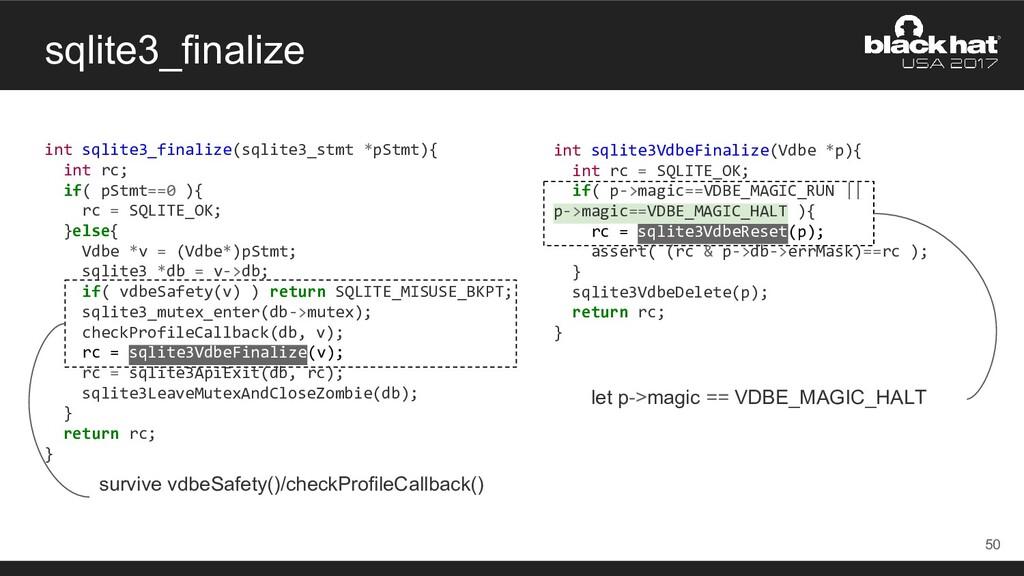 sqlite3_finalize int sqlite3_finalize(sqlite3_s...