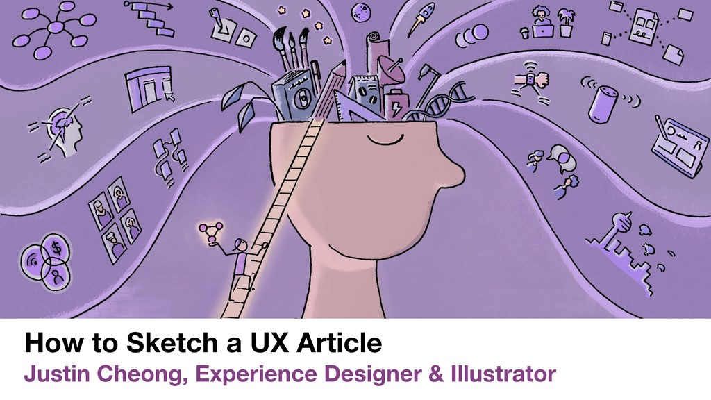 How to Sketch a UX Article Justin Cheong, Exper...