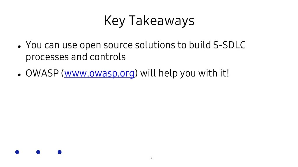 SOSCON Russia 2021 Key Takeaways  You can use ...