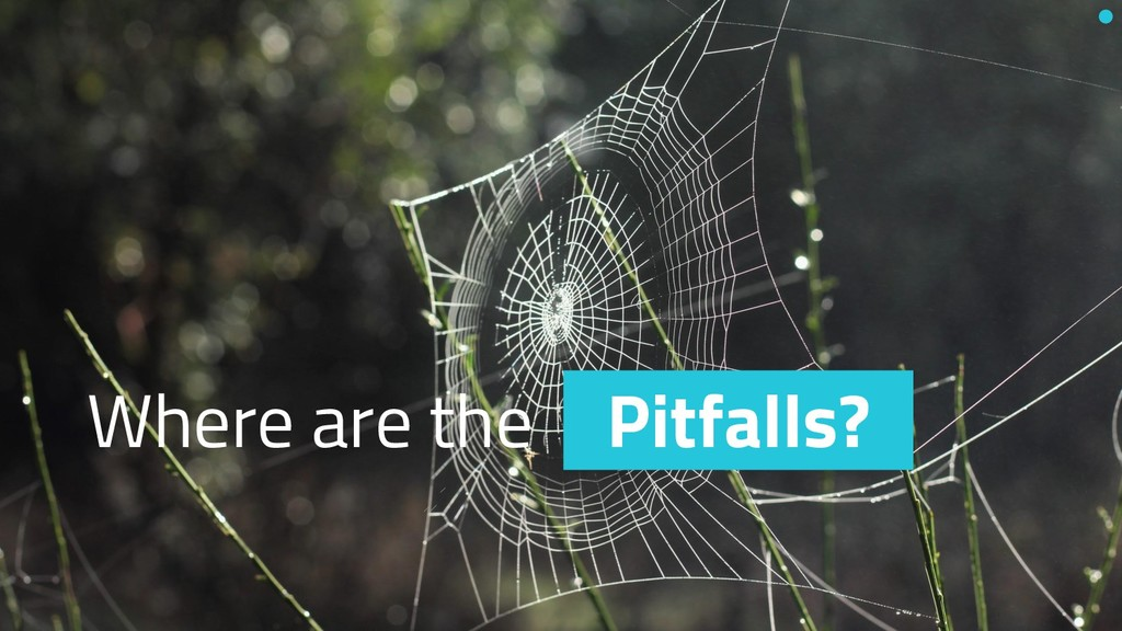 Where are the Pitfalls?