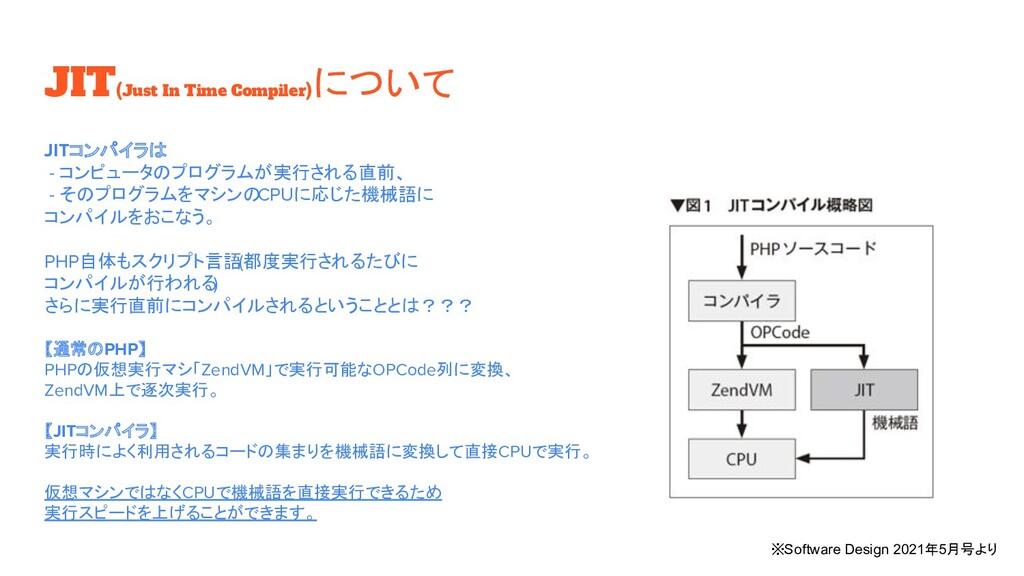 JIT(Just In Time Compiler) について JITコンパイラは - コンピ...