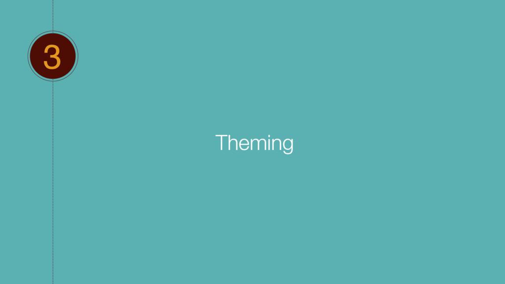 3 Theming
