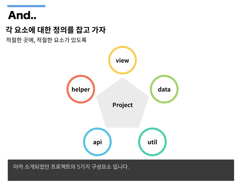 """OE , Project view data util api helper 아까 소개..."
