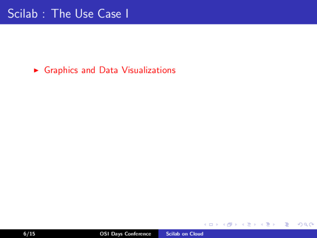 Scilab : The Use Case I Graphics and Data Visua...