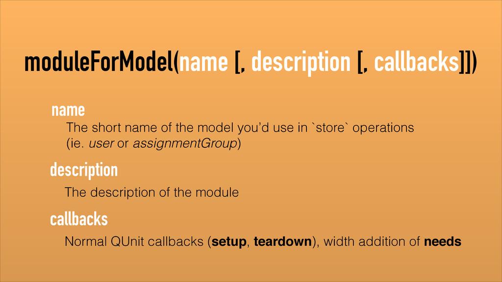 The description of the module description The s...