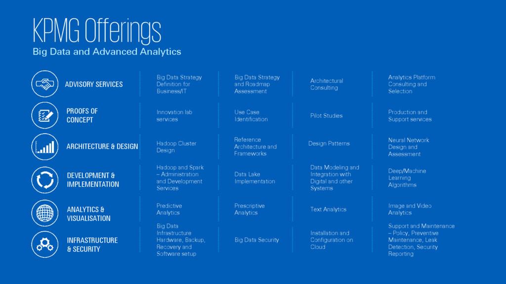 KPMG Offerings Big Data and Advanced Analytics ...