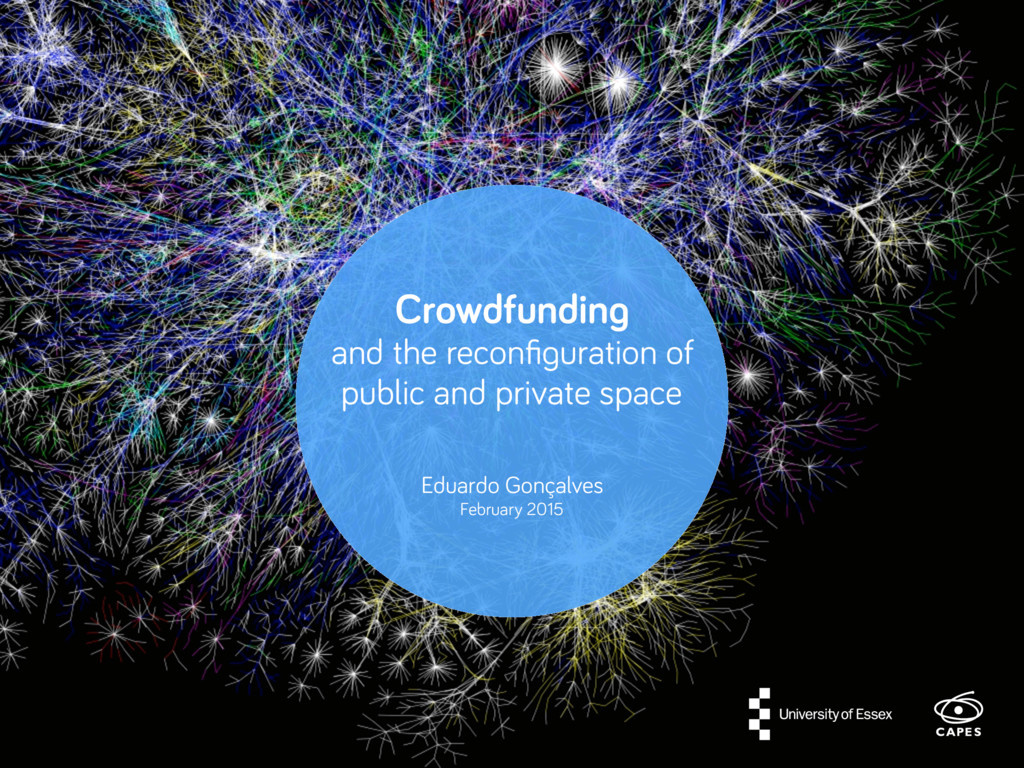 Crowdfunding and the reconfiguration of public a...