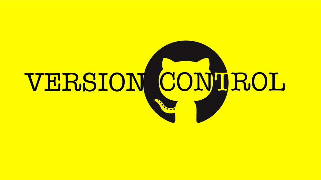 CONTROL VERSION