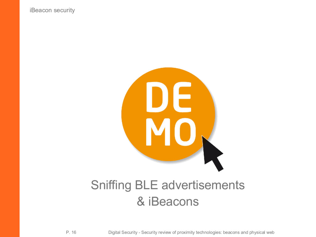 iBeacon security Sniffing BLE advertisements & ...