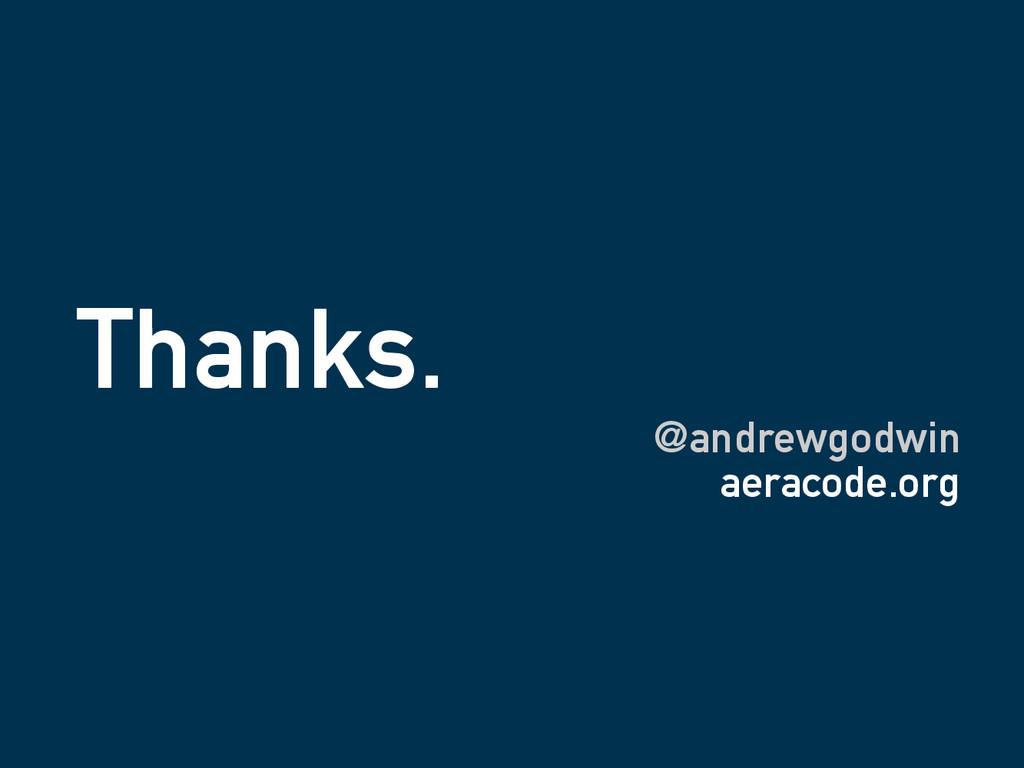 Thanks. @andrewgodwin aeracode.org