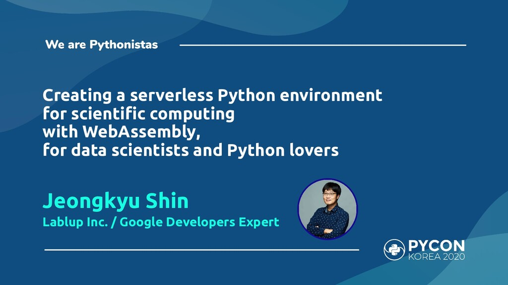 Creating a serverless Python environment for sc...