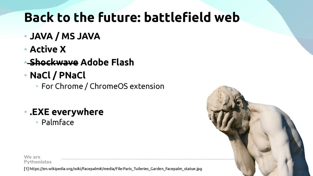 Back to the future: battlefield web • JAVA / MS...
