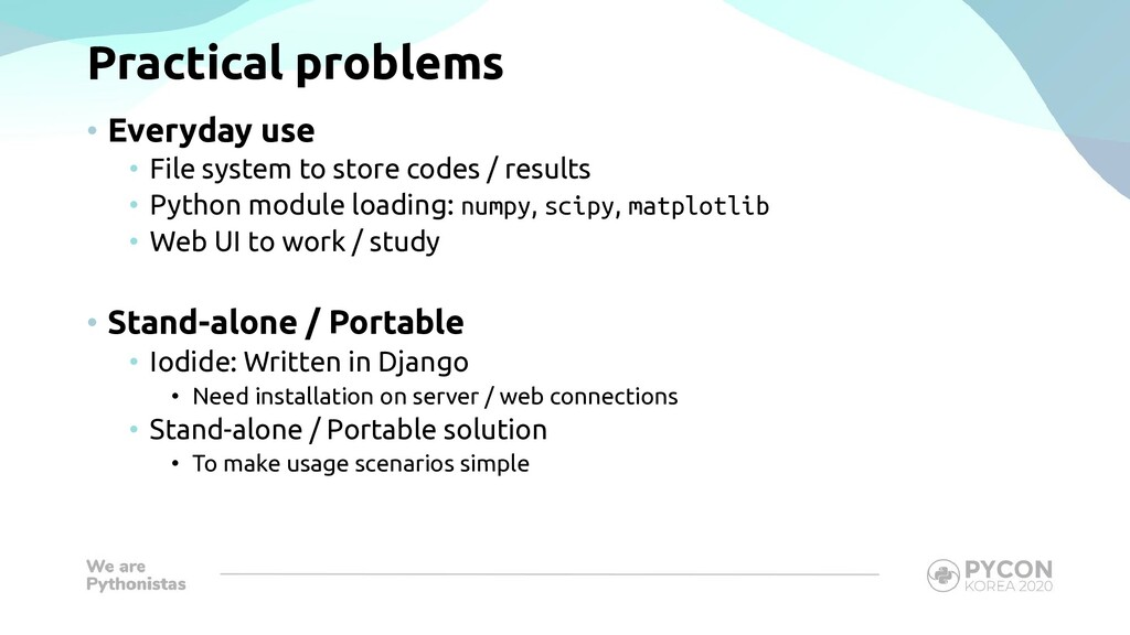 Practical problems • Everyday use • File system...