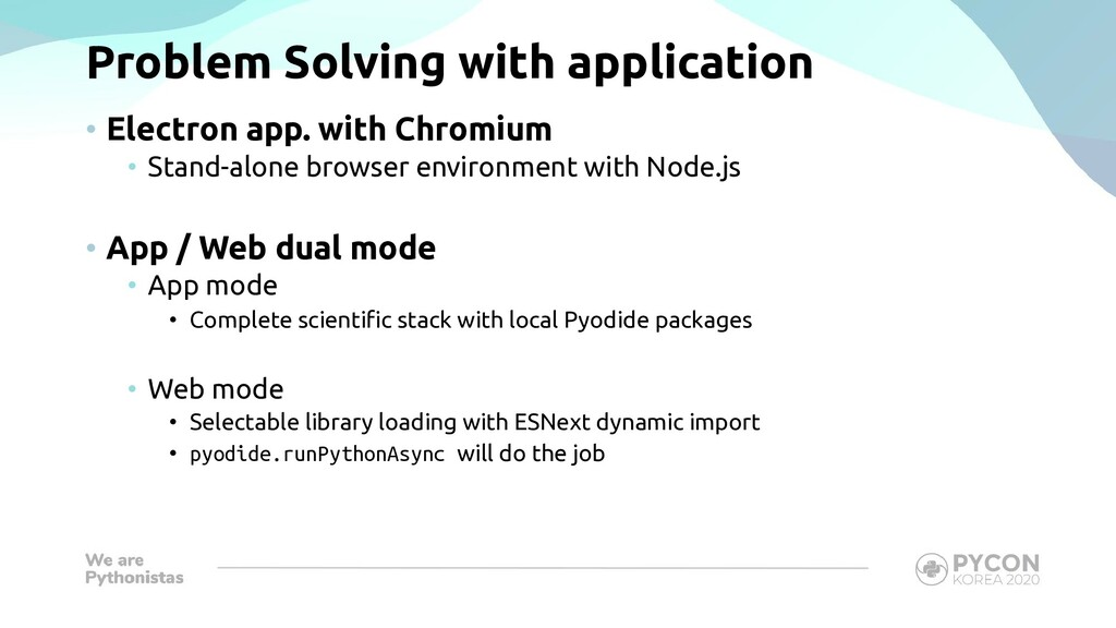 Problem Solving with application • Electron app...