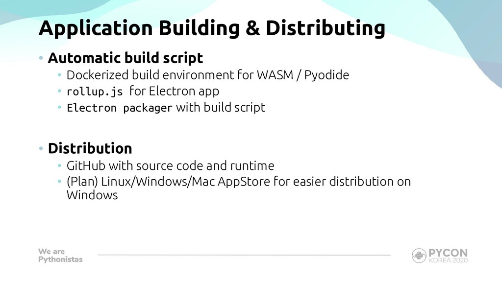 Application Building & Distributing • Automatic...