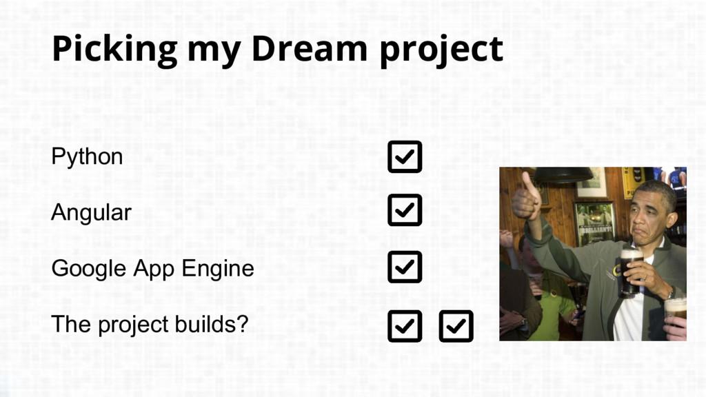 Python Angular Google App Engine The project bu...