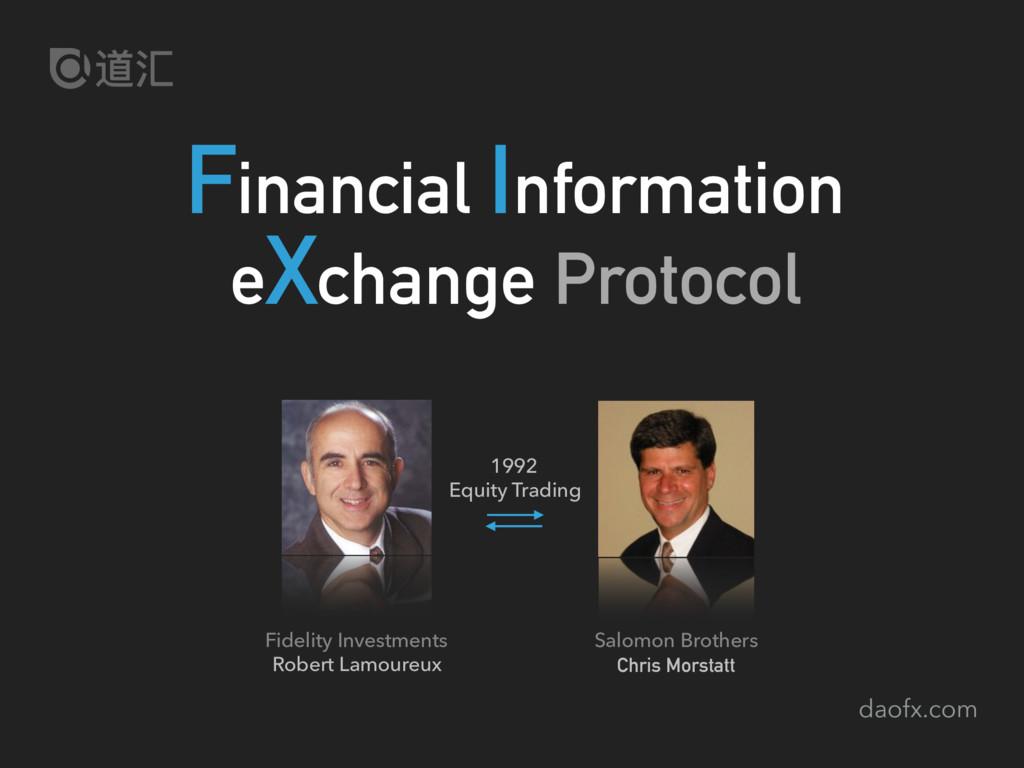 daofx.com Financial Information eXchange Protoc...