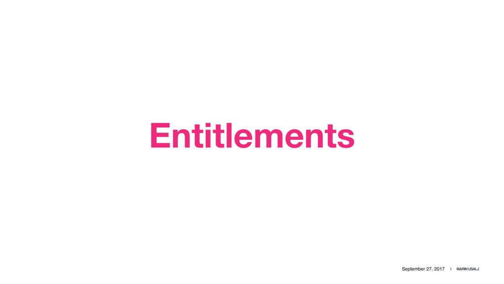 September 27, 2017 | MARIN USALJ Entitlements