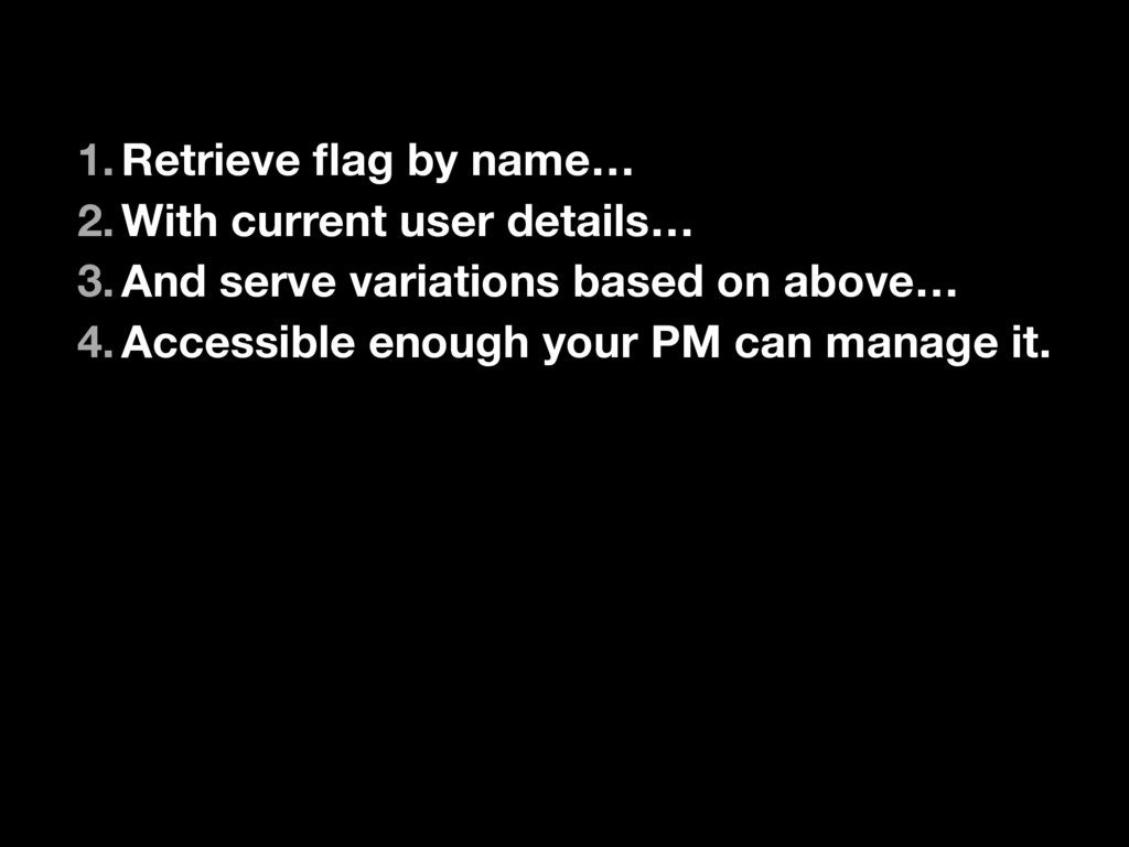 1.Retrieve flag by name… 2.With current user det...