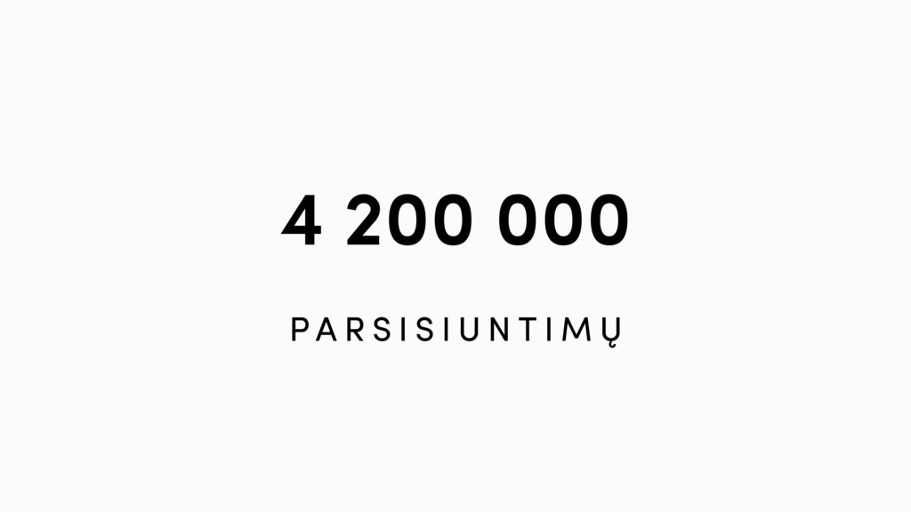 4 200 000 P A R S I S I U N T I M Ų