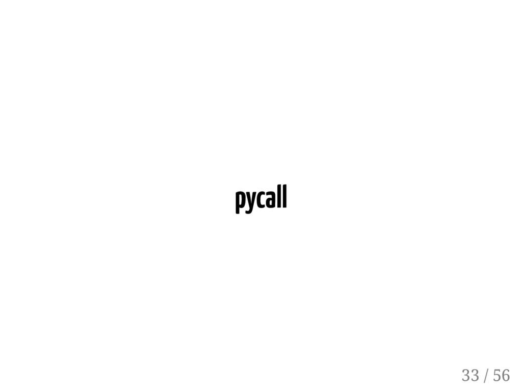 pycall 33 / 56