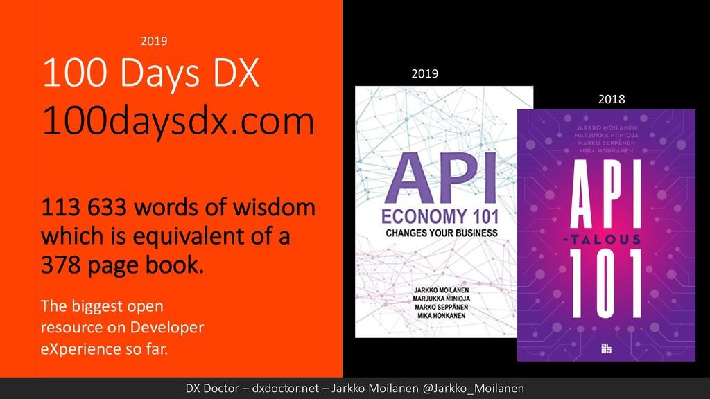 100 Days DX 100daysdx.com 113 633 words of wisd...