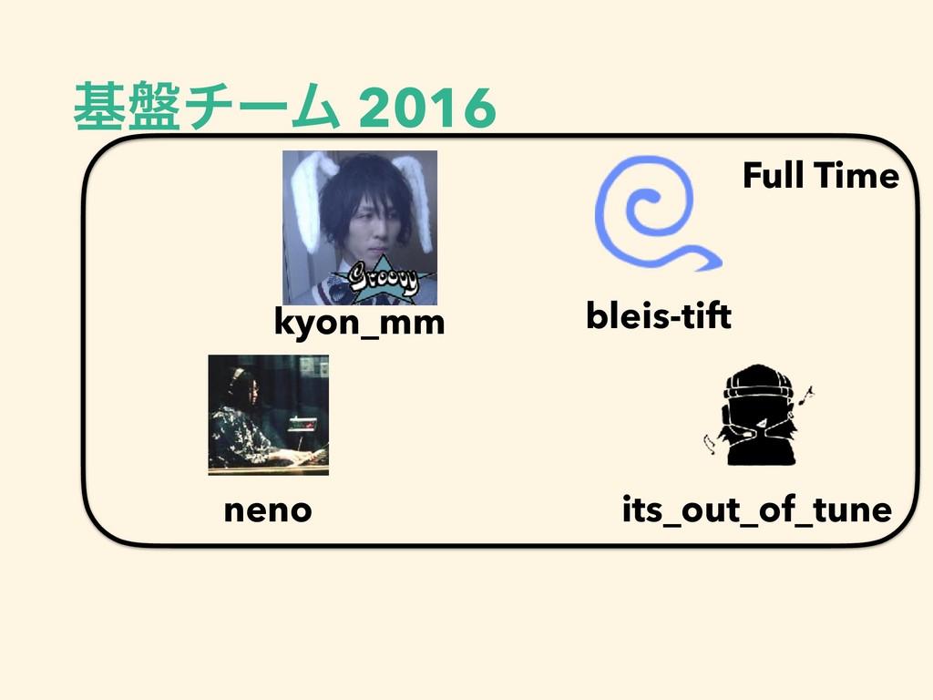 ج൫νʔϜ 2016 Full Time bleis-tift kyon_mm its_out...