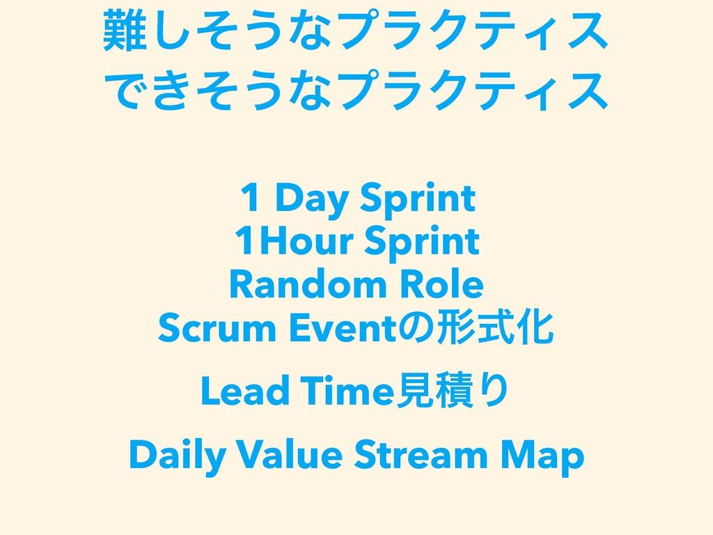 ͦ͠͏ͳϓϥΫςΟε Ͱ͖ͦ͏ͳϓϥΫςΟε  1 Day Sprint 1Hour S...