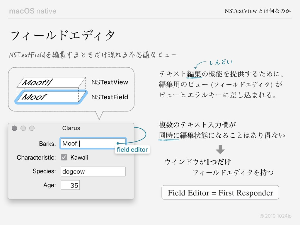 macOS native /45FYU7JFX ͱ͸Կͳͷ͔ © 2019 1024jp ςΩ...