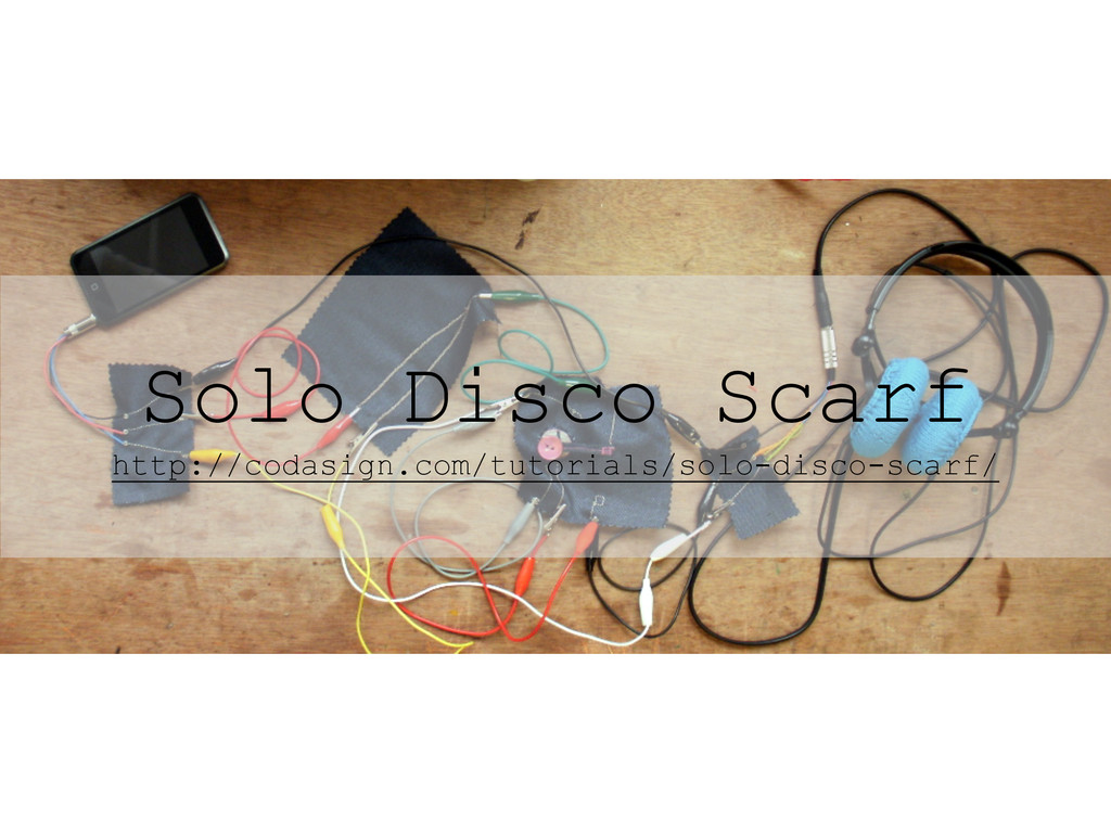 Solo Disco Scarf http://codasign.com/tutorials/...