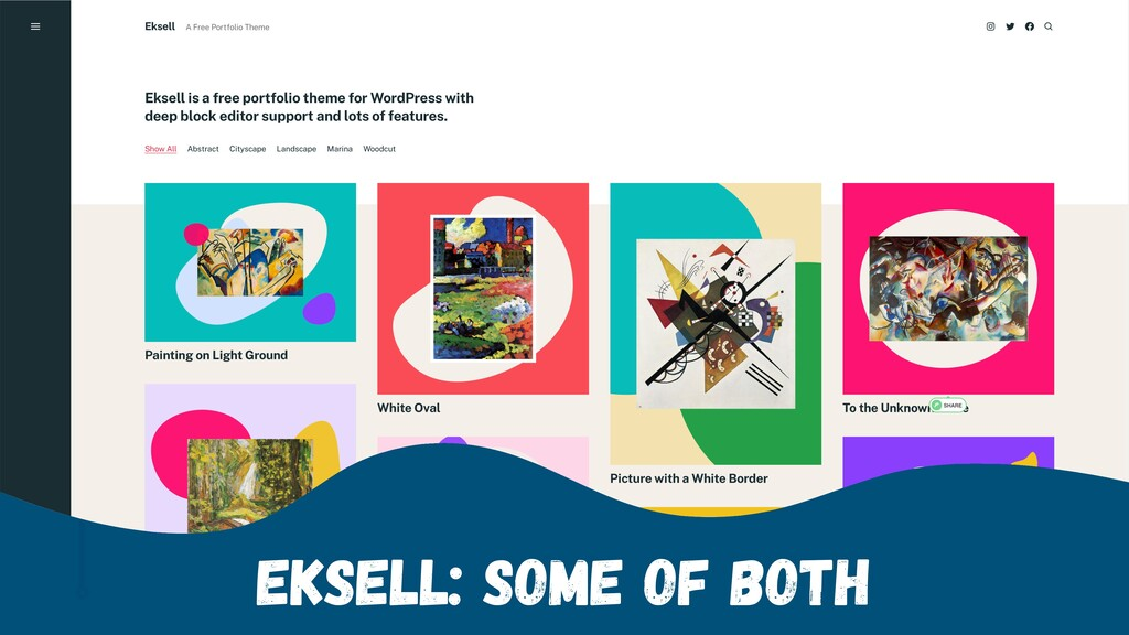 Eksell: Some of Both
