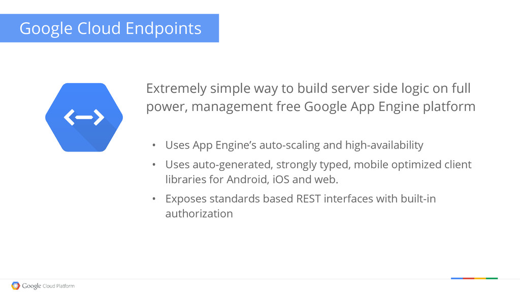 Google Cloud Endpoints Extremely simple way to ...