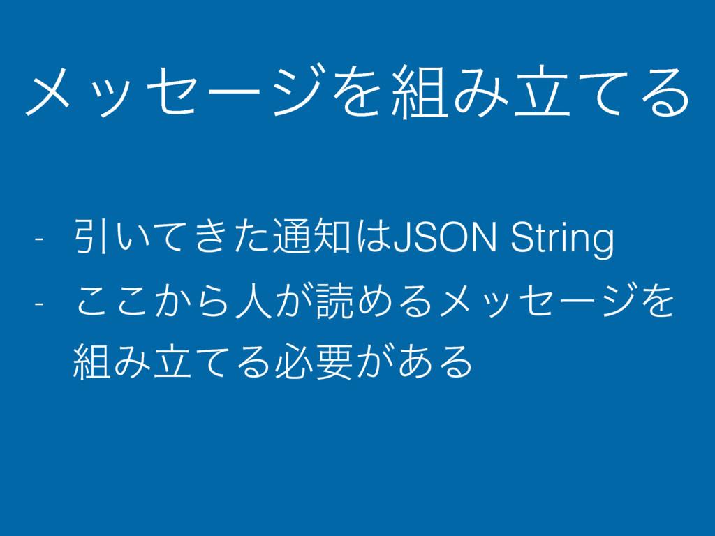 ϝοηʔδΛΈཱͯΔ - Ҿ͍͖ͯͨ௨JSON String - ͔͜͜Βਓ͕ಡΊΔϝο...