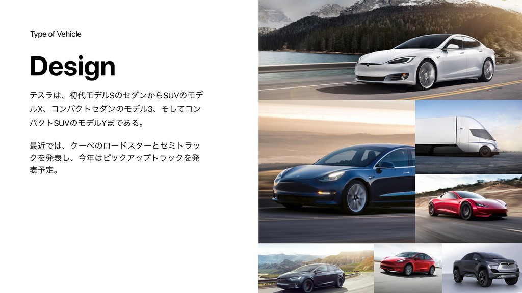 Type of Vehicle Design ςεϥɺॳϞσϧSͷημϯ͔ΒSUVͷϞσ ...