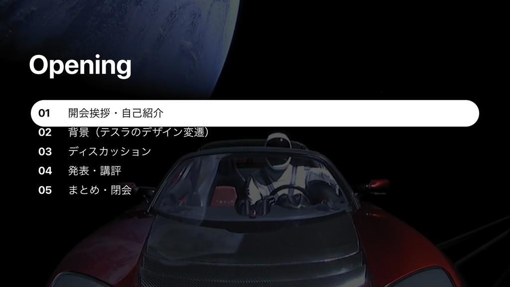 02 03 σΟεΧογϣϯ 04 ൃදɾߨධ 05 ·ͱΊɾดձ 01 Opening ։ձ...