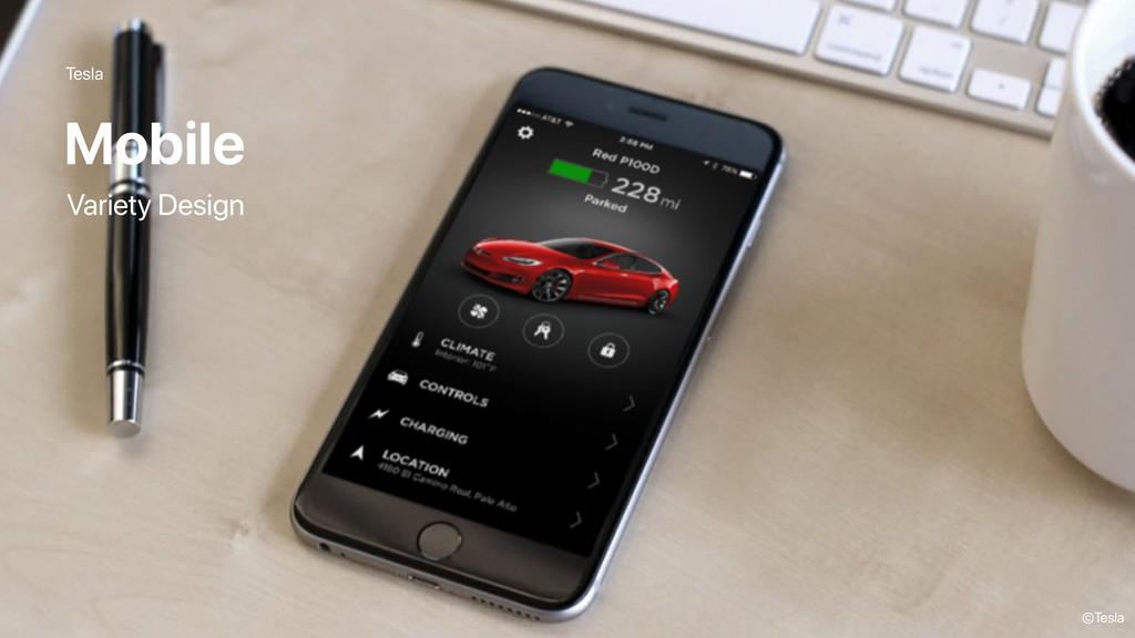 Tesla Mobile ©Tesla Variety Design